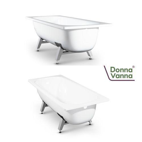 "Ванна ""DONNA VANNA"" с антибактериальным покрытием (Белая орхидея 170 х 70 х 40) DV-73901 (без ранта)"